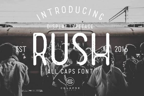 Rush - Sans-Serif Fonts