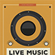 Indie Live Music Flyer - GraphicRiver Item for Sale