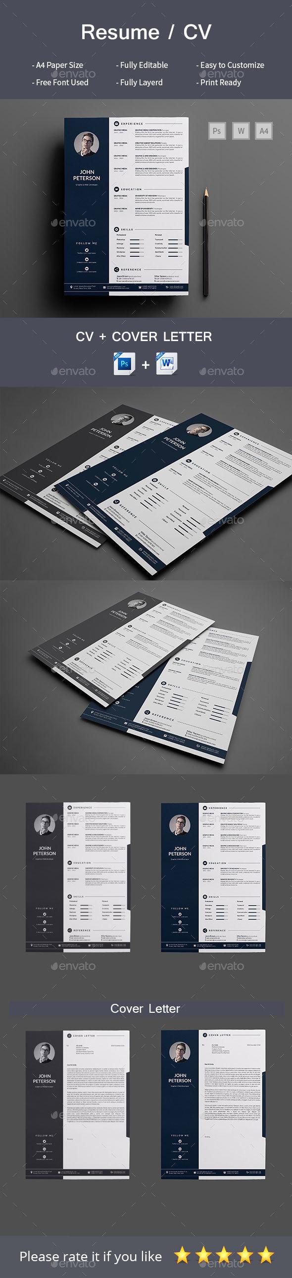 Resume/CoverLetter - Resumes Stationery