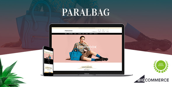 Paralbag - Parallax BigCommerce Bag Store Theme - BigCommerce eCommerce
