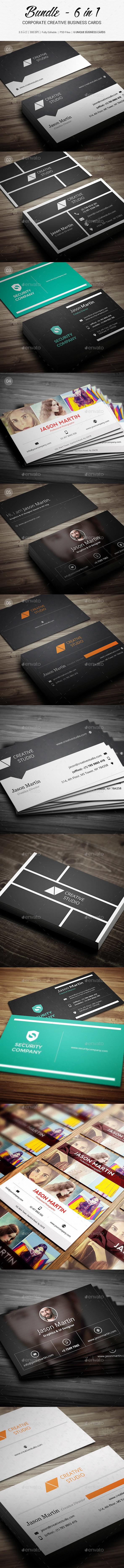 Bundle - Creative Bsiness Cards - B19 - Creative Business Cards