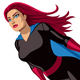 Super Heroine Flying - GraphicRiver Item for Sale