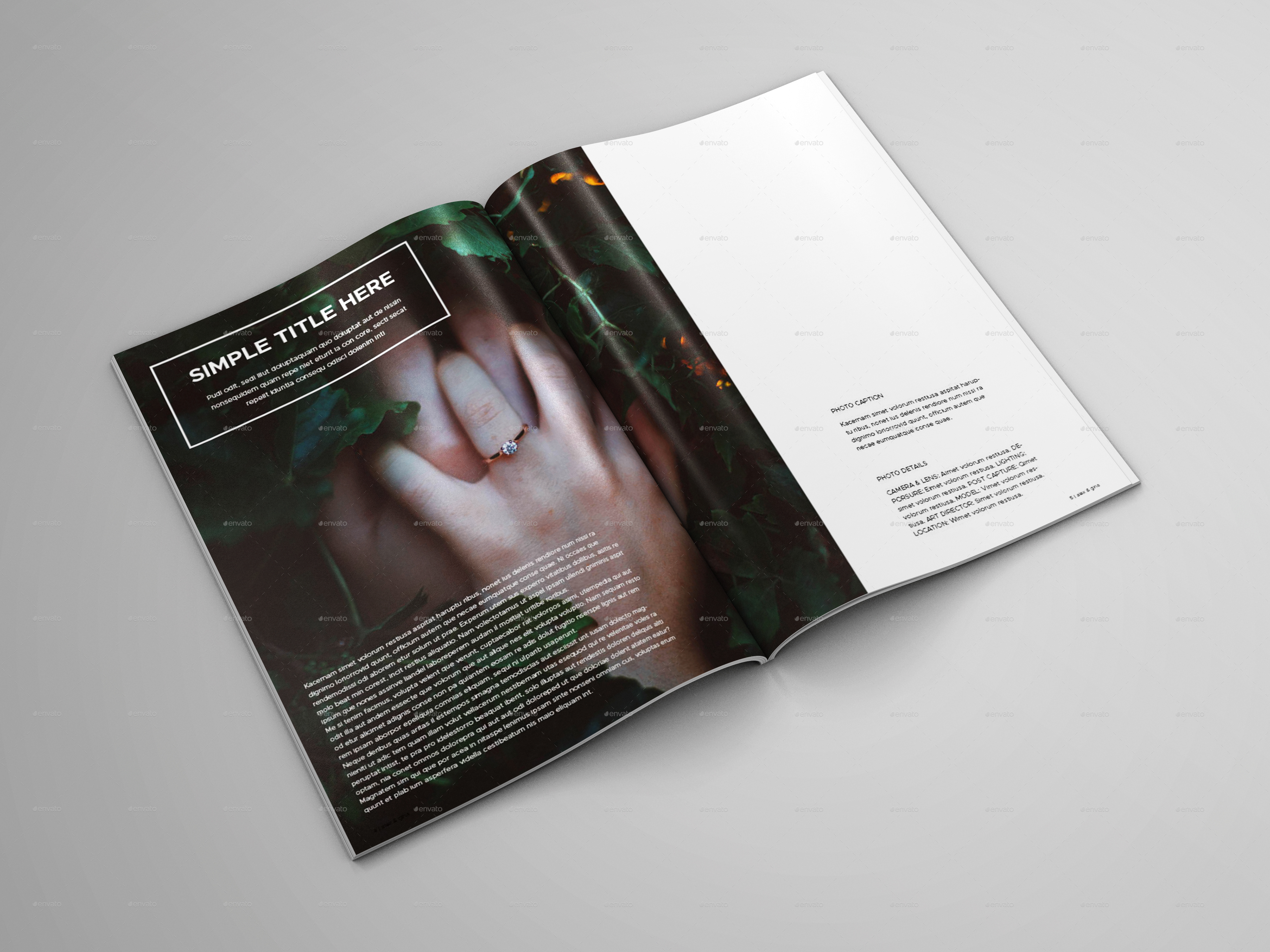 green wedding album by bookrak graphicriver