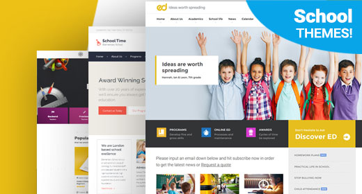 School, LMS, Education WordPress Themes