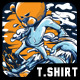 Boost Your Skill T-Shirt Design - GraphicRiver Item for Sale
