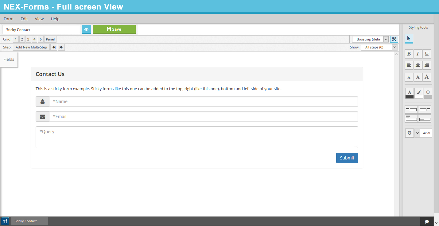 Nex Forms The Ultimate Wordpress Form Builder By Basix