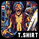 Zombiehunter T-Shirt Design - GraphicRiver Item for Sale