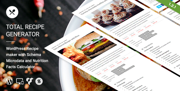 Total Recipe Generator - Visual Composer Addon - CodeCanyon Item for Sale