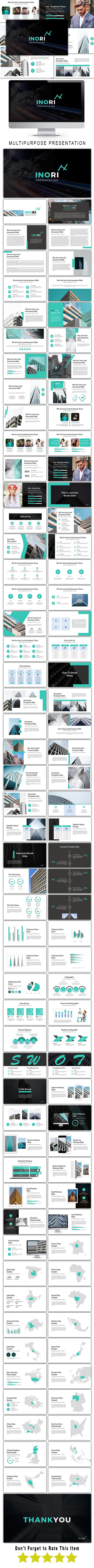 Inori Multipurpose Google Slide Template - Google Slides Presentation Templates
