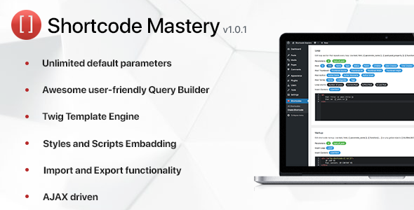 CodeCanyon Shortcode Mastery 20253118