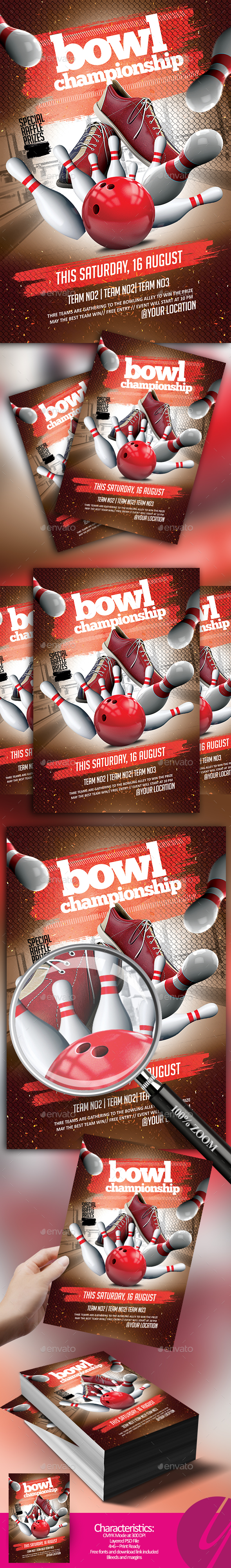 Bowl Championship Flyer - Sports Events
