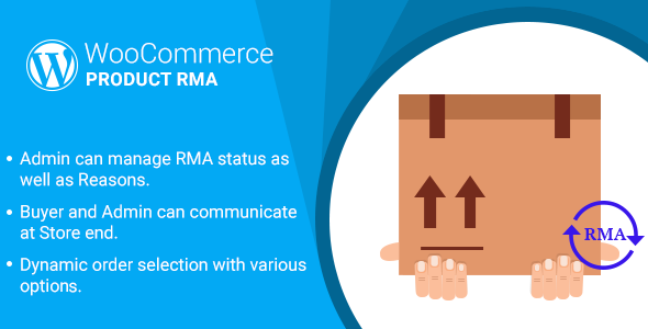WordPress WooCommerce Product RMA Plugin - CodeCanyon Item for Sale