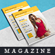 The Magazine (Measurements the Model Catalog) - GraphicRiver Item for Sale
