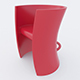 Vray Ready Modern Plastic Chair