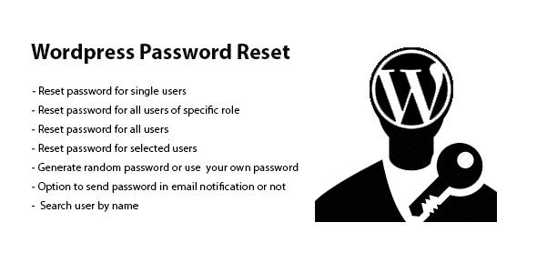 CodeCanyon Wordpress Password Reset 20317763
