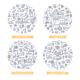 Marketing Automation Doodle Illustrations Set 1 - GraphicRiver Item for Sale