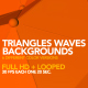 Triangles Waves Backgrounds - VideoHive Item for Sale