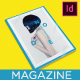 Node Minimalist Magazine Design Template / Layout - GraphicRiver Item for Sale