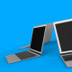 Laptops Rotation Background - VideoHive Item for Sale