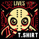 Slashing Party T-Shirt Desi-Graphicriver中文最全的素材分享平台