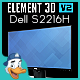 Dell S2216H for Element 3D