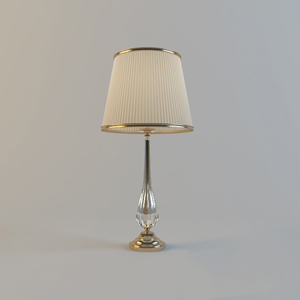 Vray Ready Beautiful Table Lamp - 3DOcean Item for Sale