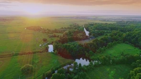 VideoHive Folk Festival of Ivan Kupala Day on Green Meadow 20318424