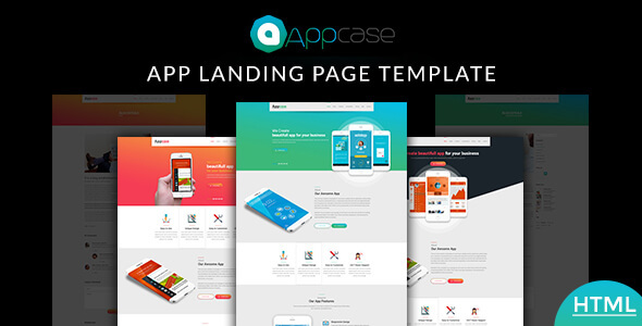 Appcase App Landing Page