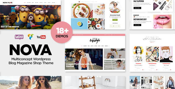 NovaBlog - Multi-Concept Blog / Magazine WordPress Theme - Personal Blog / Magazine