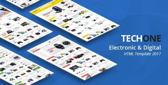 TechOne - Multipurpose HTML Template