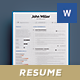Junior Resume/Cv Template - GraphicRiver Item for Sale