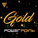 Gold - Clean PowerPoint Template - GraphicRiver Item for Sale