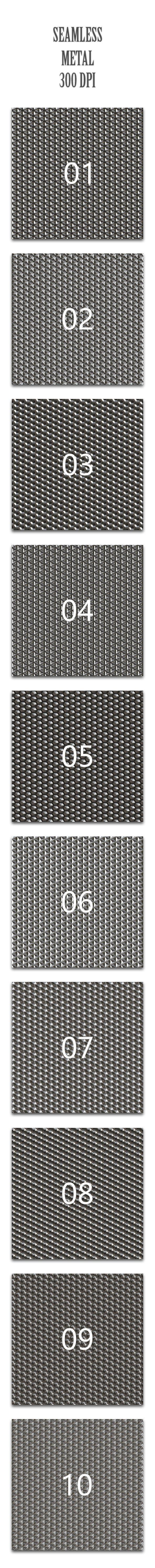 Seamless Metal - Textures / Fills / Patterns Photoshop