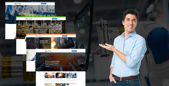 30 Best Industrial & Manufacturing WordPress Themes 2018