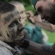 Makeup Masters Create Zombies in the Open Air. - VideoHive Item for Sale