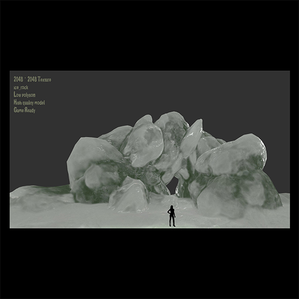 ice cave 4 - 3DOcean Item for Sale