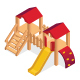 Isometric Kids Playground Objects Set