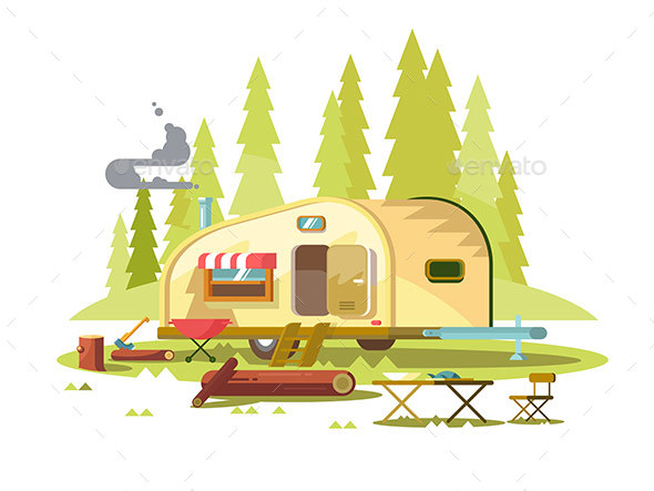 GraphicRiver Trailer for Travel in Forest 20319964