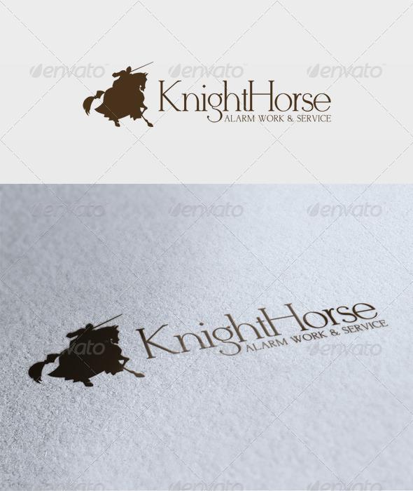 Knight Horse Logo - Animals Logo Templates