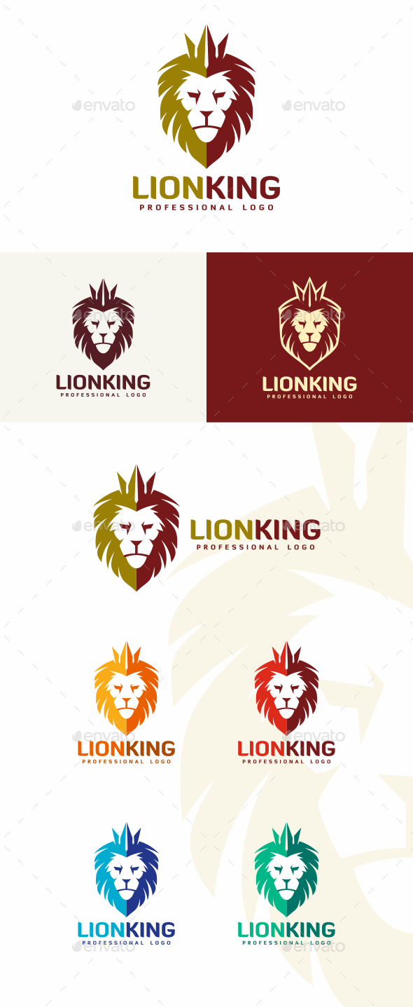 GraphicRiver Lion Logo 20320454