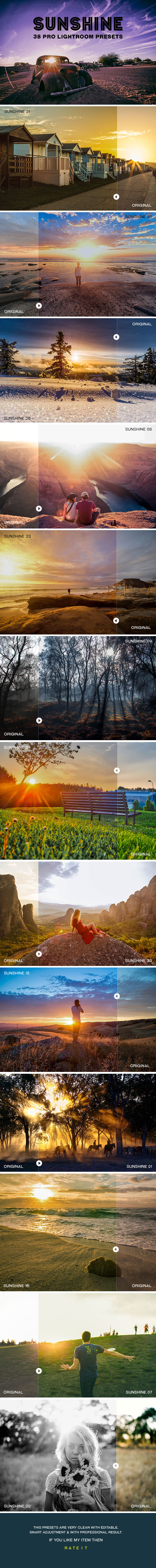 GraphicRiver Sunshine Landview Lightroom Presets 20320553