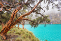 Blue Lake in the Cordillera Blanca - PhotoDune Item for Sale