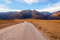 Dirt Road and Mountains - PhotoDune Item for Sale