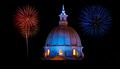 Cathedral and Fireworks - PhotoDune Item for Sale