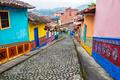 Colorful Cobblestone Street - PhotoDune Item for Sale