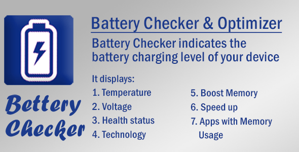 Battery Doctor with Admob - CodeCanyon Item for Sale