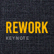 Rework Keynote Presentation Template - GraphicRiver Item for Sale