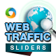 Web Traffic Slider