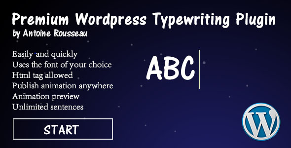 Download Advanced Typing Effect WordPress Plugin nulled version