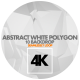 Abstract White Polygon Pack